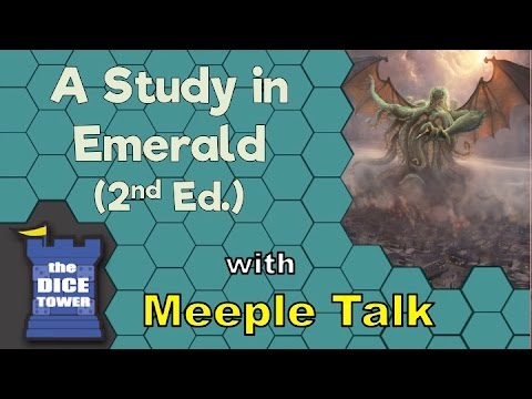 A Study in Emerald 2nd Edition Review - with Meeple Talk
