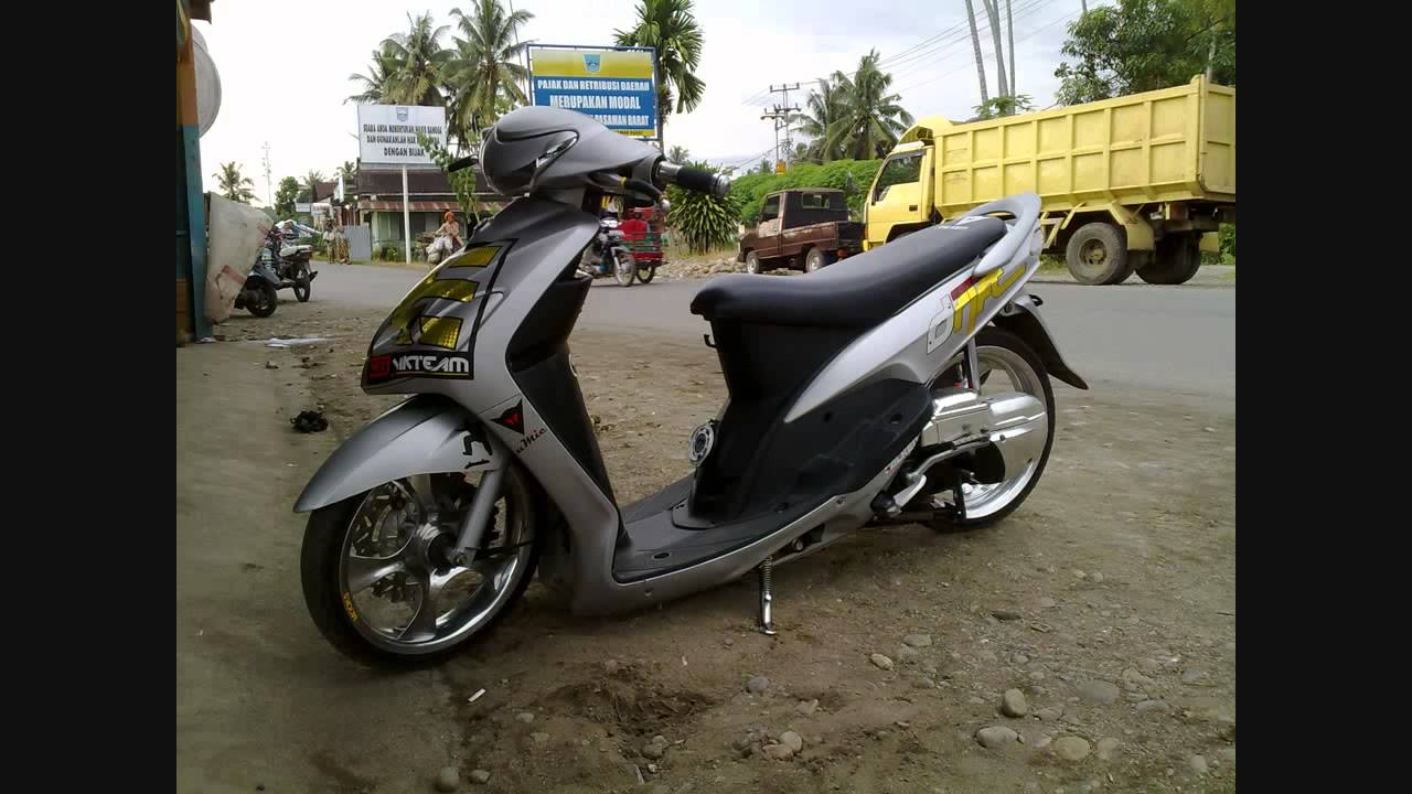 Top modifikasi mio soul ceper
