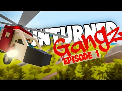 Unturned GangZ Hawaii S5E1: HELICOPTER RESCUE MISSION! (Hawaii PvP Gameplay)