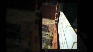 Garage Conversion Brickwork By Dracom Builders.mp4