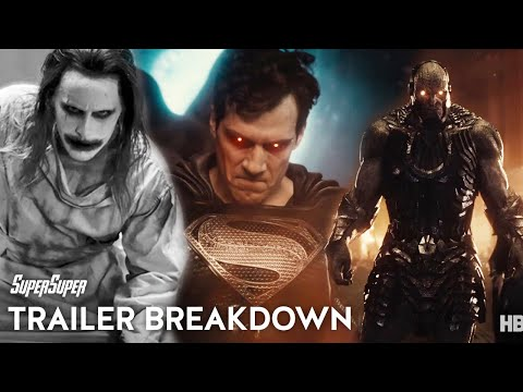 Zack Snyder's Justice League Trailer Breakdown | SuperSuper