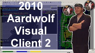Old Video: Aardwolf MUD Visual client update 11-20-2010 By William Arends ( Moshu )