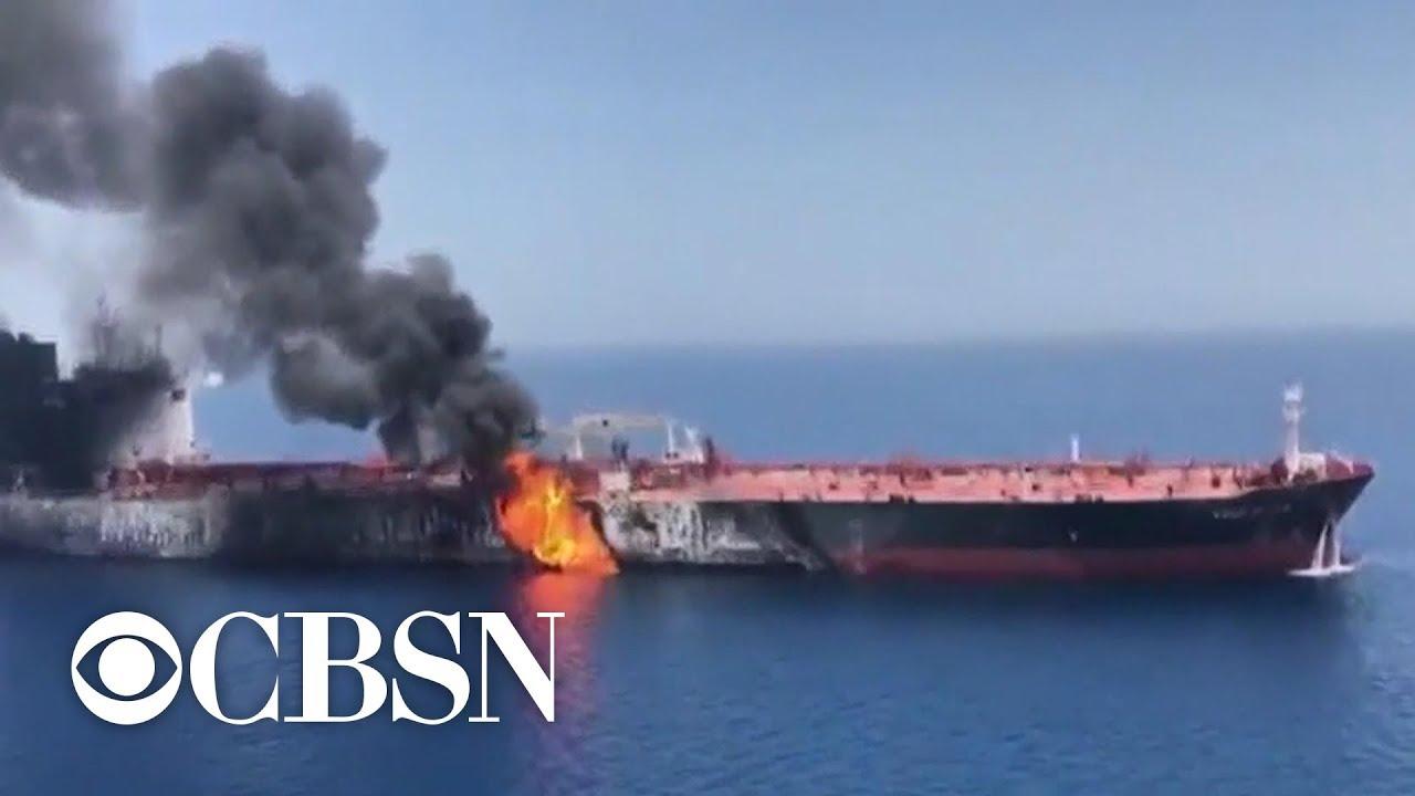U.K. accuses Iranian boats of trying to intercept British oil tanker