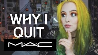 What It's Like Working at MAC & Why I Quit