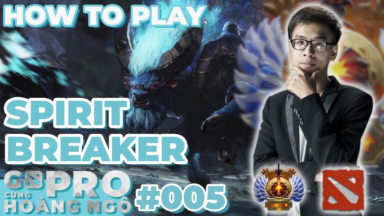 Go Pro cùng Hoàng Ngô   Dota2: Barathum nên chơi thế nào?
