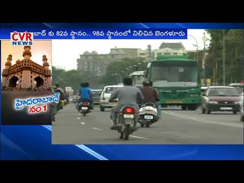 Hyderabad beats Bangalore in Development over Indian cities in American Survey   CVR News