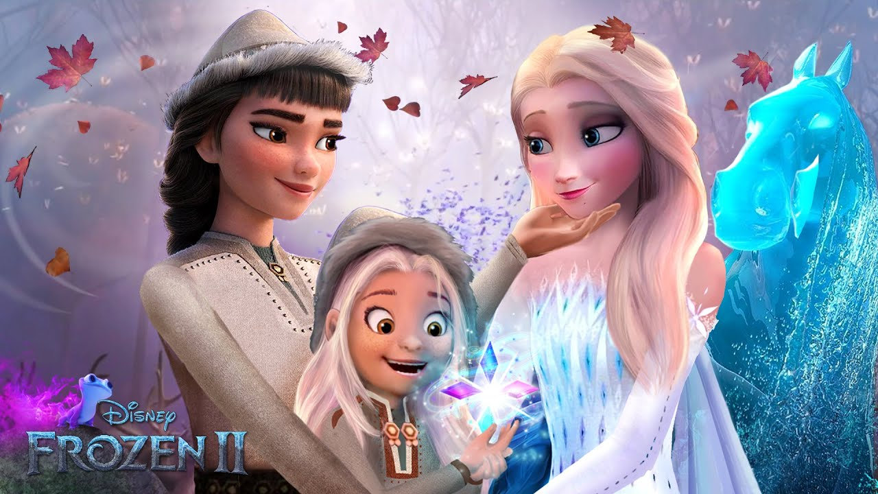 Download Frozen 2: Elsa has a wife and daughter! They live surrounded by the magical spirits! ❄💙 Alice Edit!