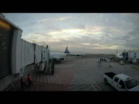 31 DEC 2013 - BOS to BWI to BOS roundtrip on JetBlue (time lapse)