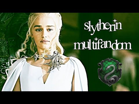 slytherin multifandom *.✧*