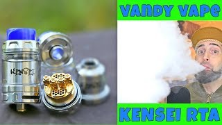 Honeycomb Airflow Baby! The Kensei RTA By Vandy Vape!