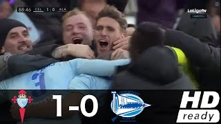 Video Gol Pertandingan Celta Vigo vs Deportivo Alaves
