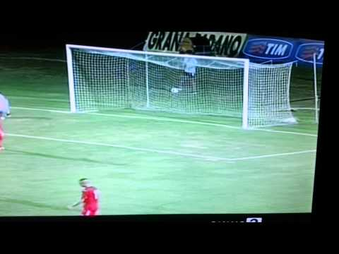 Giannetti Niccolò goal Siena 4-1 Pisa coppa italia