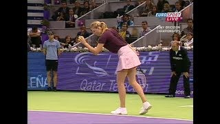 Maria Sharapova vs Daniela Hantuchova Madrid 2007 (2.Set)