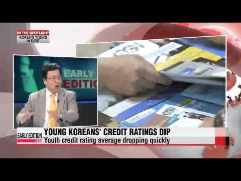 Korea's young burdened by debt: Analysis