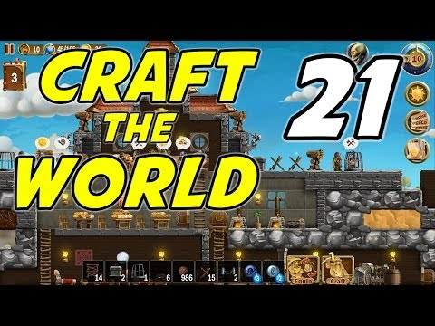Craft The World | E21 | Advanced Fortifications!