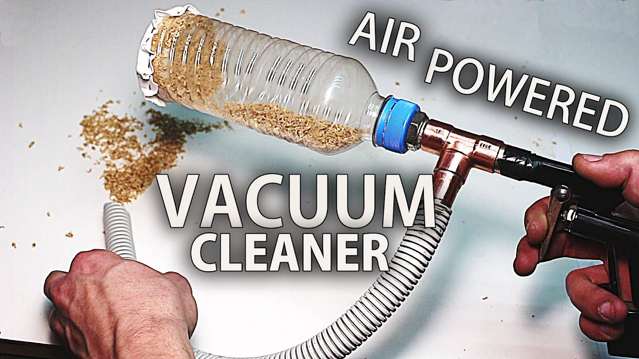 How to Make an Air Powered Mini Vacuum Cleaner Venturi Effect