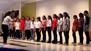 SMP TARAKANITA 4 CHOIR 2012