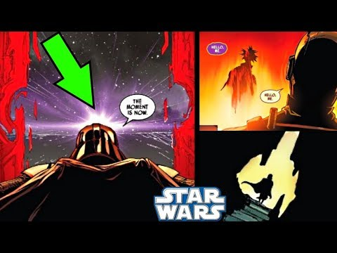 DARTH VADER OPENS A TIME PORTAL & SOMEONE COMES OUT!!!  Star Wars Comics Explained
