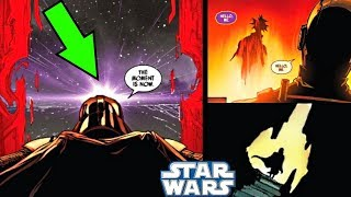DARTH VADER OPENS A TIME PORTAL & SOMEONE COMES OUT!!! - Star Wars Comics Explained