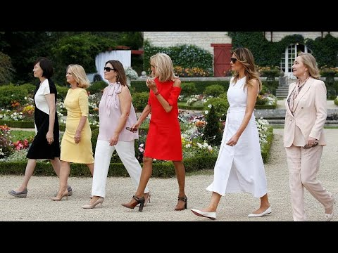 euronews (deutsch): G7: Landpartie für die Ladies