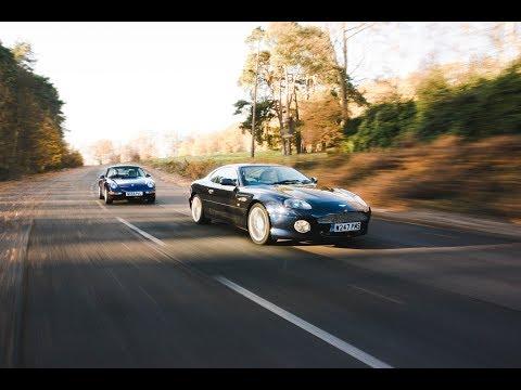 25 years of Porsche 993 and Aston Martin DB7