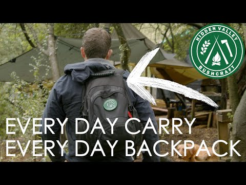 EDC Backpack | Ex Royal Marine now Bushcraft Instructor shares his day to day pack contents