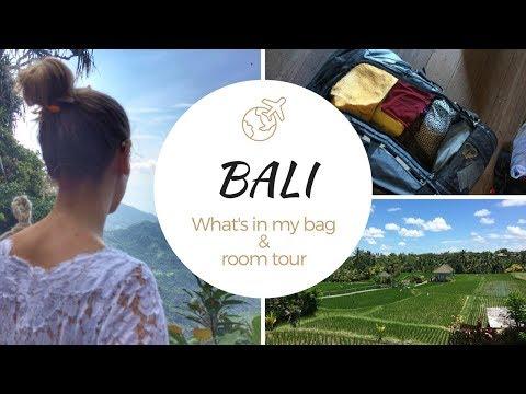 BALI | Tout ce que j'ai apporté & Room tour