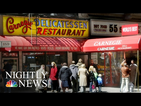 Saying Goodbye To Carnegie Deli, A New York City Institution | NBC Nightly News