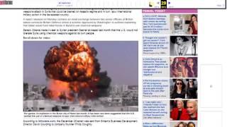 'Kimyasal Saldırıyı Esad değil AMERİKA Yapmış'