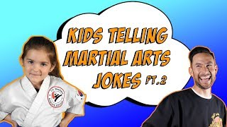 Kids Telling Martial Arts Jokes pt 2