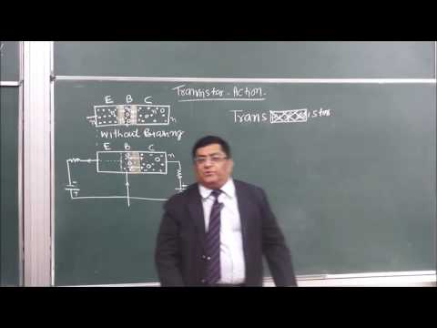 PHY-XII-14-13 Transistor characteristic (2016) Pradeep Kshetrapal Physics channel