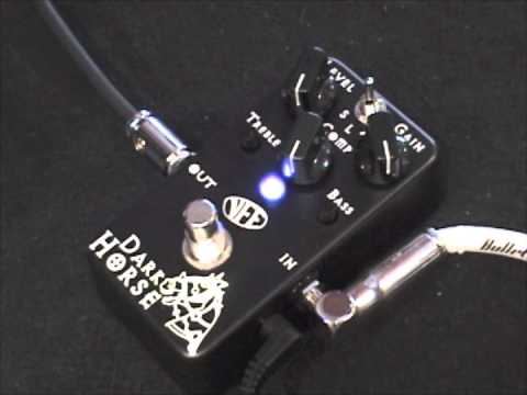 vfe pedals dark horse high gain distortion guitar effects pedal demo youtube. Black Bedroom Furniture Sets. Home Design Ideas