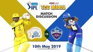 Chennai vs Delhi  T20  Qualifier 2   Live Scores and Analysis (English)   IPL 2019