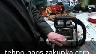 Жөндеу бензопили - бензопила жөндеуден кейін - шолу