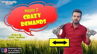 Reply 2 Crazy Demands | Happy Raikoti | Cover by Arjun singh & Barinderjeet Singh | Jashan Sandhwan