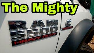 The Mighty RAM 5500! Close-up! Plus a RAM 3500 Single Rear Wheel!