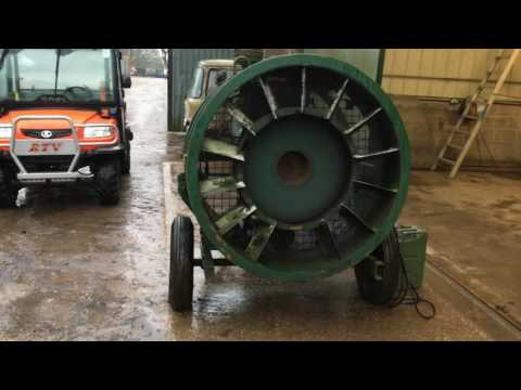 LISTER 4 CYLINDER ELECTRIC START AGRICULTURAL/ FARMING FAN