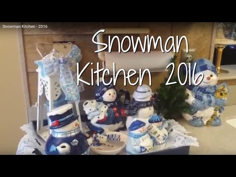 Snowman Kitchen - 2016