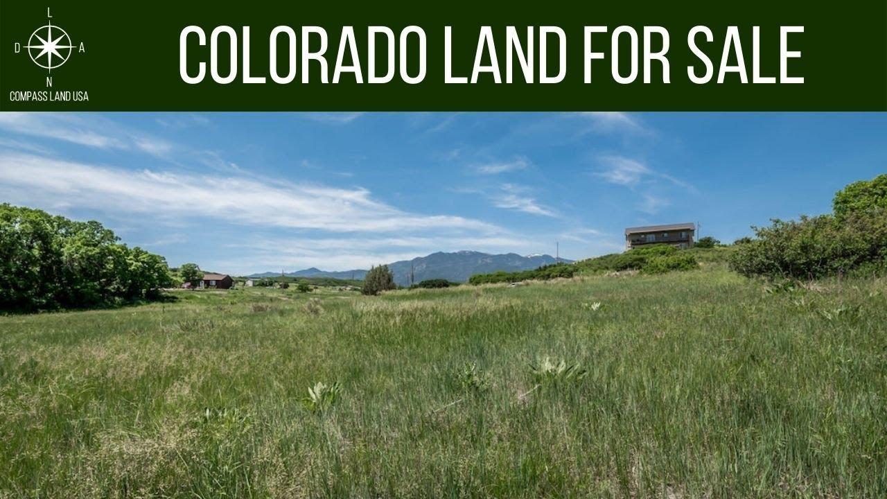 SOLD - 0.7 Acres - With City Water & Sewer! In Colorado City, Pueblo County CO