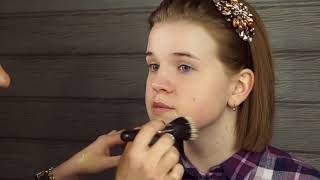 Макияж для начинающих ПОШАГОВО | Уроки макияжа | Хитрости nude-макияжа