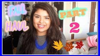 Fall Haul 2014 Pt. 2 | Forever 21, Ulta, Zara, & more Thumbnail