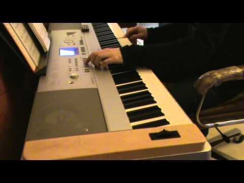 Unchained melody - ghost piano yamaha dgx 640
