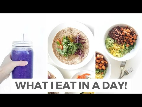 What I Eat In A Day #1 | Quick, Healthy & Plant-Based | Healthy Grocery Girl