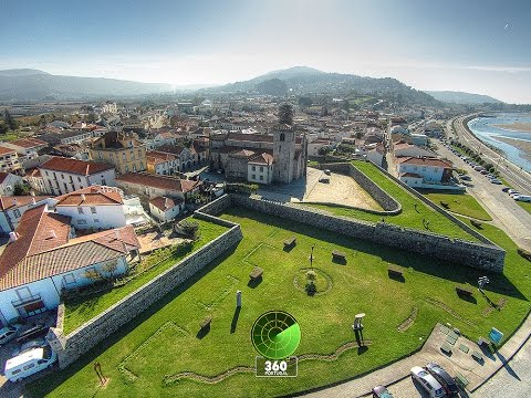 Caminha - North Portuguese Village - Aerial views
