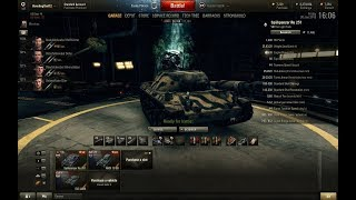 World of Tanks Blitz WOT gameplay playing with Dynamic Leopard EP221(09/08/2018)