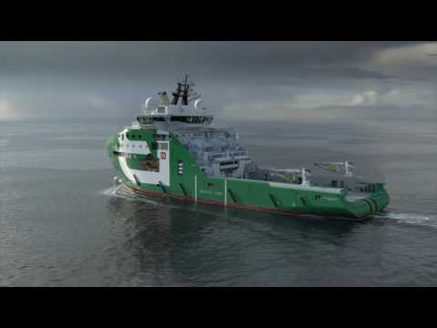 Global Maritime Animation For Bourbon Offshore