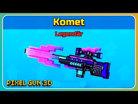 Einzigartige Waffe Gekauft! Komet Im Test!   Pixel Gun 3D