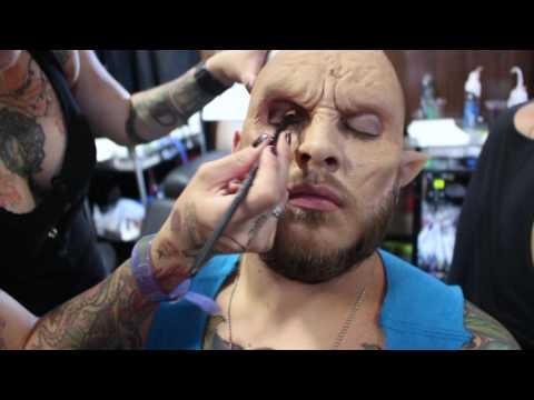Warewolf MakeUp - Hombre lobo At Expotattoo Medellin 2016