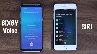 BIXBY Voice vs SIRI - Voice Assistant Comparison