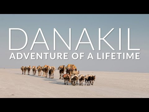 🐪 Danakil-Depression in Ethiopia |  Adventure of a Lifetime 🐪